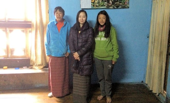 番組にも登場する、ハの農家の娘、サンゲイとそのお母さんと