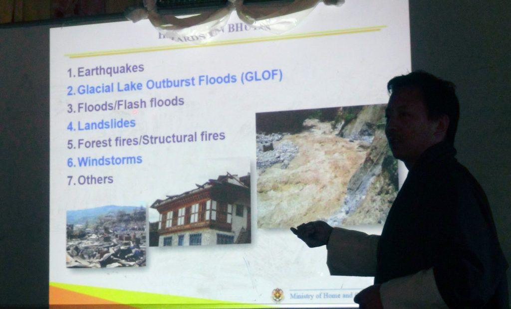 筑波大学でも学んだ防災課の専門家から、わかりやすいレクチャーを受ける